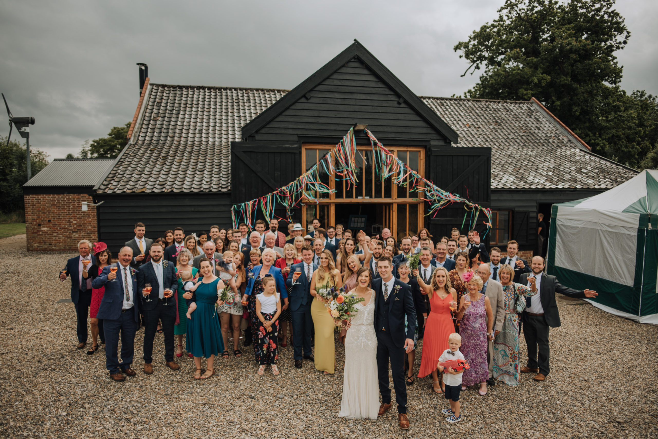 Raveningham Barn Wedding